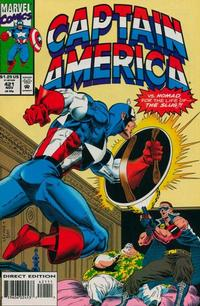 Cover Thumbnail for Captain America (Marvel, 1968 series) #421 [Direct Edition]