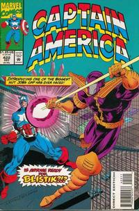 Cover Thumbnail for Captain America (Marvel, 1968 series) #422 [Direct Edition]
