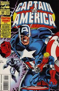 Cover Thumbnail for Captain America (Marvel, 1968 series) #425 [Regular Direct Edition]