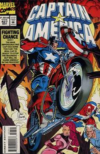 Cover Thumbnail for Captain America (Marvel, 1968 series) #427 [Direct Edition]