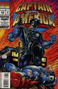 Cover Thumbnail for Captain America (Marvel, 1968 series) #428 [Direct Edition]