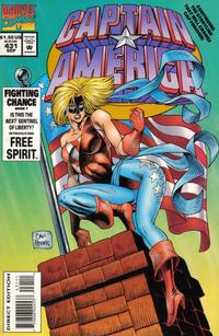 Cover Thumbnail for Captain America (Marvel, 1968 series) #431 [Direct Edition]