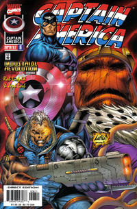 Cover Thumbnail for Captain America (Marvel, 1996 series) #6 [Direct Edition]