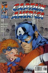 Cover Thumbnail for Captain America (Marvel, 1996 series) #8 [Direct Edition]
