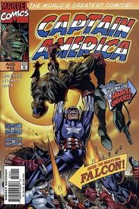 Cover Thumbnail for Captain America (Marvel, 1996 series) #10 [Direct Edition]