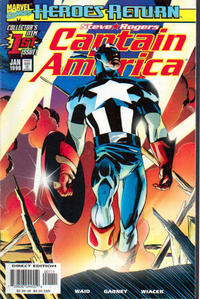 Cover Thumbnail for Captain America (Marvel, 1998 series) #1 [Direct Edition]