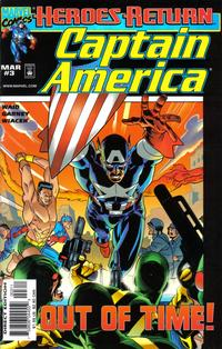 Cover Thumbnail for Captain America (Marvel, 1998 series) #3 [Direct Edition]