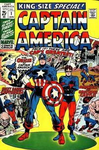 Cover Thumbnail for Captain America Annual (Marvel, 1971 series) #1