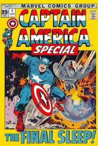 Cover Thumbnail for Captain America Annual (Marvel, 1971 series) #2