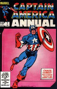 Cover Thumbnail for Captain America Annual (Marvel, 1971 series) #7 [Direct Edition]