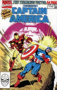 Cover Thumbnail for Captain America Annual (Marvel, 1971 series) #9 [Direct Edition]