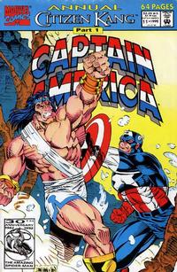 Cover Thumbnail for Captain America Annual (Marvel, 1971 series) #11 [Direct Edition]