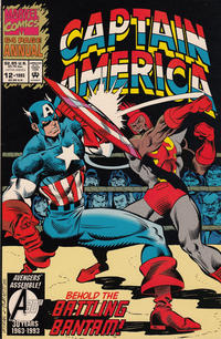 Cover Thumbnail for Captain America Annual (Marvel, 1971 series) #12 [Direct]