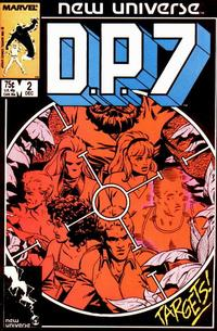 Cover for D.P. 7 (Marvel, 1986 series) #2 [Direct]