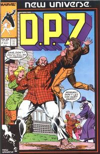 Cover Thumbnail for D.P. 7 (Marvel, 1986 series) #7 [Direct]