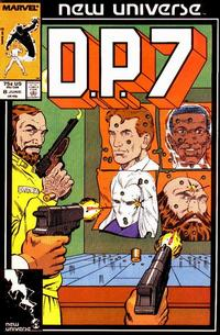 Cover Thumbnail for D.P. 7 (Marvel, 1986 series) #8 [Direct Edition]