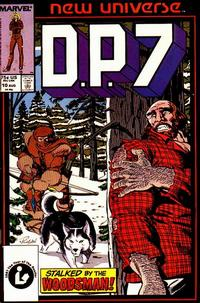 Cover Thumbnail for D.P. 7 (Marvel, 1986 series) #10 [Direct Edition]