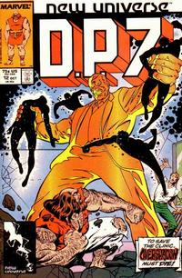 Cover Thumbnail for D.P. 7 (Marvel, 1986 series) #12 [Direct]