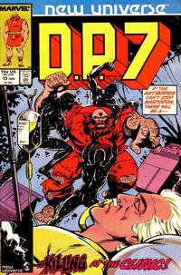 Cover Thumbnail for D.P. 7 (Marvel, 1986 series) #13 [Direct Edition]