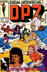 Cover Thumbnail for D.P. 7 (Marvel, 1986 series) #14 [Direct Edition]