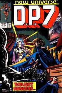 Cover Thumbnail for D.P. 7 (Marvel, 1986 series) #15