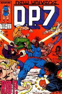 Cover Thumbnail for D.P. 7 (Marvel, 1986 series) #17