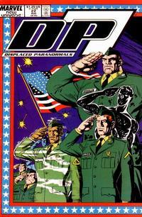 Cover Thumbnail for D.P. 7 (Marvel, 1986 series) #22
