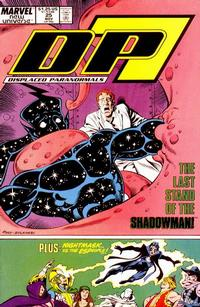 Cover for D.P. 7 (Marvel, 1986 series) #25