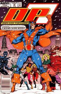 Cover Thumbnail for D.P. 7 (Marvel, 1986 series) #30