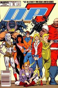 Cover Thumbnail for D.P. 7 (Marvel, 1986 series) #32