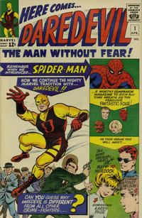 Cover Thumbnail for Daredevil (Marvel, 1964 series) #1 [Regular Edition]