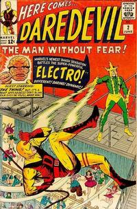 Cover Thumbnail for Daredevil (Marvel, 1964 series) #2 [Regular Edition]