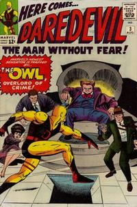 Cover Thumbnail for Daredevil (Marvel, 1964 series) #3 [Regular Edition]