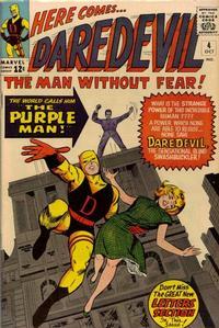 Cover Thumbnail for Daredevil (Marvel, 1964 series) #4