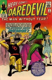 Cover Thumbnail for Daredevil (Marvel, 1964 series) #5