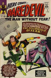 Cover Thumbnail for Daredevil (Marvel, 1964 series) #6