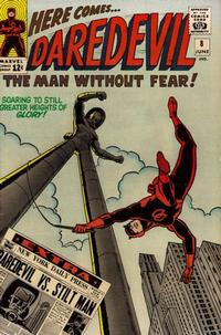 Cover Thumbnail for Daredevil (Marvel, 1964 series) #8