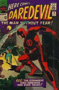 Cover Thumbnail for Daredevil (Marvel, 1964 series) #10 [Regular Edition]