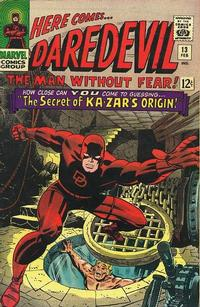 Cover Thumbnail for Daredevil (Marvel, 1964 series) #13 [Regular Edition]