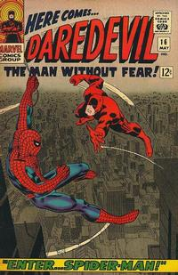 Cover Thumbnail for Daredevil (Marvel, 1964 series) #16 [Regular Edition]