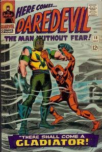 Cover Thumbnail for Daredevil (Marvel, 1964 series) #18 [Regular Edition]