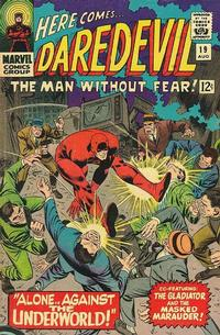 Cover Thumbnail for Daredevil (Marvel, 1964 series) #19 [Regular Edition]