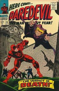 Cover Thumbnail for Daredevil (Marvel, 1964 series) #20 [Regular Edition]