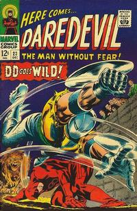 Cover Thumbnail for Daredevil (Marvel, 1964 series) #23 [Regular Edition]