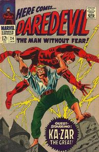 Cover Thumbnail for Daredevil (Marvel, 1964 series) #24 [Direct Edition]