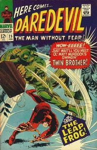 Cover Thumbnail for Daredevil (Marvel, 1964 series) #25 [Regular Edition]
