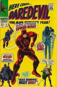 Cover Thumbnail for Daredevil (Marvel, 1964 series) #27 [Regular Edition]