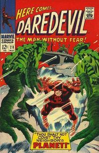 Cover Thumbnail for Daredevil (Marvel, 1964 series) #28 [Regular Edition]