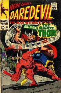 Cover Thumbnail for Daredevil (Marvel, 1964 series) #30 [Regular Edition]