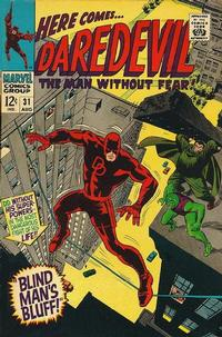 Cover Thumbnail for Daredevil (Marvel, 1964 series) #31 [Regular Edition]